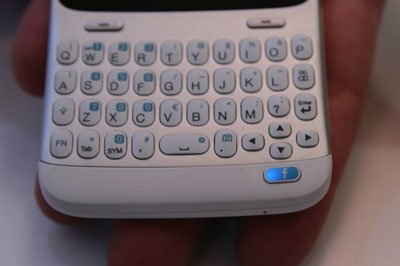 Клавиатура HTC ChaCha