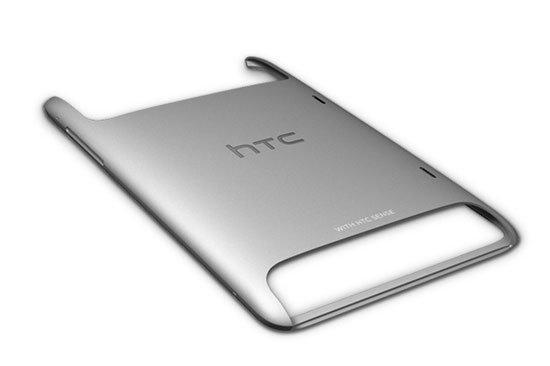 Алюминиевый корпус планшета HTC Flyer