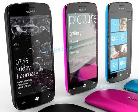 Концепт смартфонов Nokia на Windows Phone 7