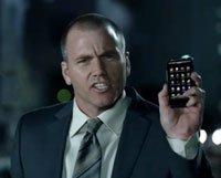 Кадр из рекламного ролика HTC Inspire