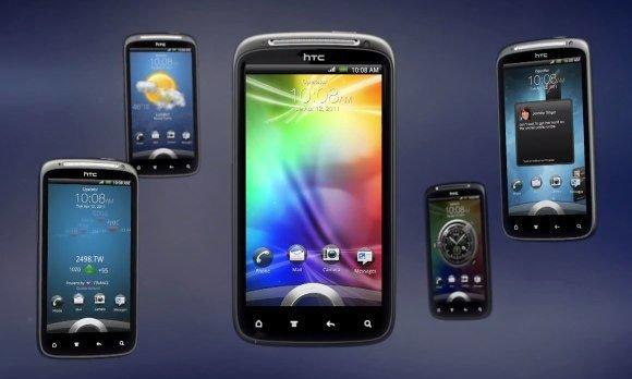 HTC Sensation с новым HTC Sense 3.0
