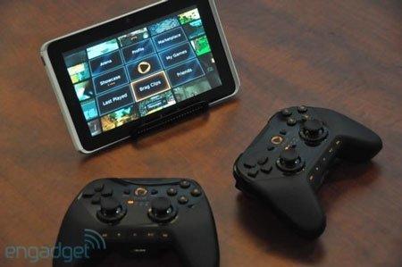Универсальный беспроводной контроллер от OnLive работает с HTC Flyer