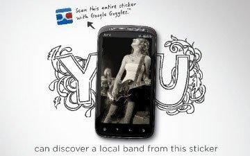 HTC рекламирует Sensation 4G при поддержке Google Goggles