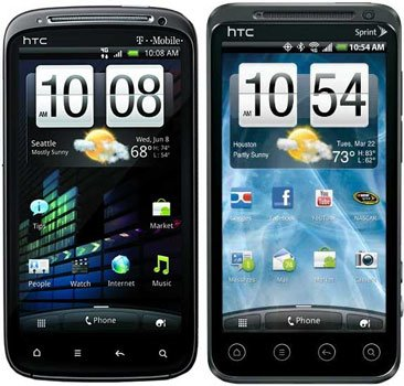 HTC Sensation и EVO 3D