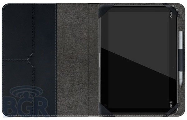 Планшет HTC Puccini в чехле