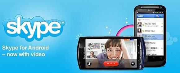 Видеозвонки в Skype для Android