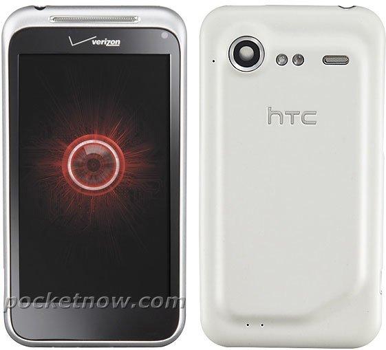 HTC Incredible 2 (Incredible S) с серебристым корпусом