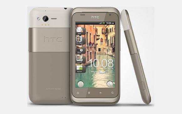 HTC Rhyme в корпусе серого цвета