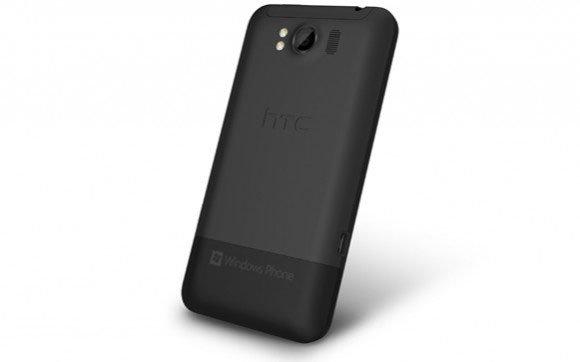 HTC Titan — вид сзади