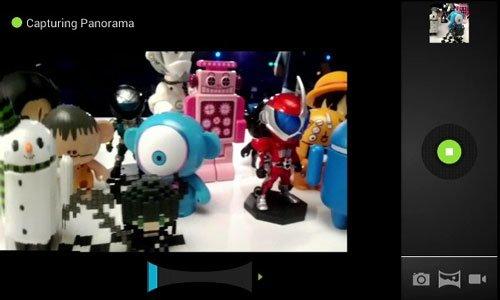 Панорамная съемка в Android 4
