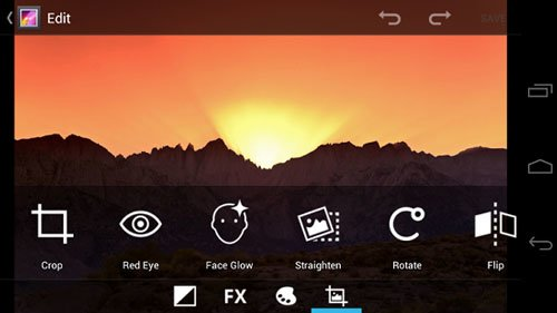 Фотогалерея в Android 4