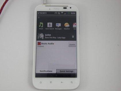 HTC Sensation XL — DSP от Beats
