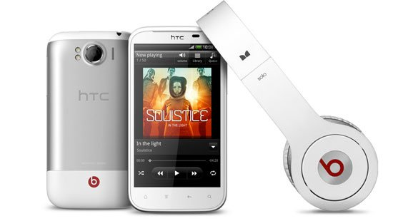 HTC Sensation XL и наушники Beats