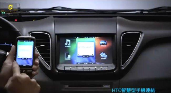 Синхронизация смартфона HTC с Think+ в Luxgen5