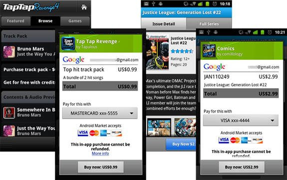 Покупки внутри Android-игр
