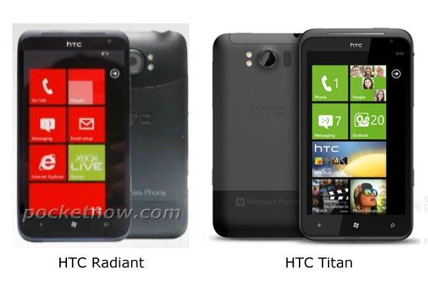 HTC Radiant и HTC Titan
