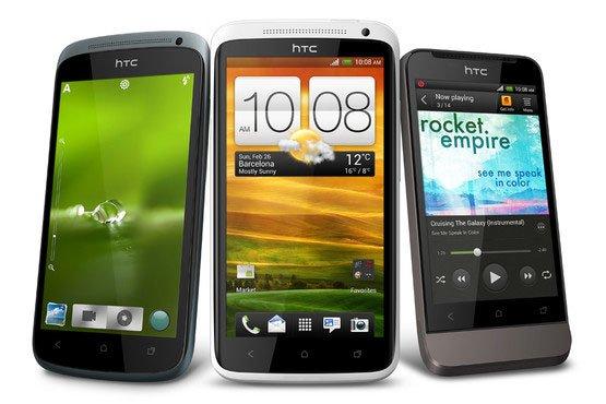 Смартфоны серии HTC One: One S, One X и One V