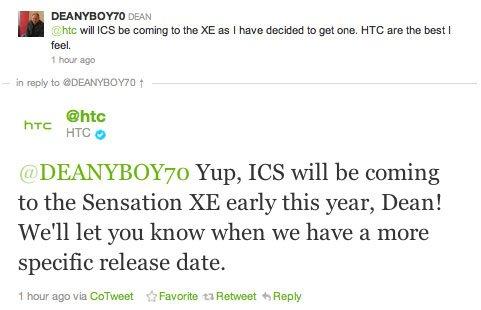 HTC Sensation XE будет обновлен до ICS в начале 2012