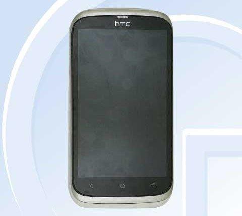 HTC Wind спереди