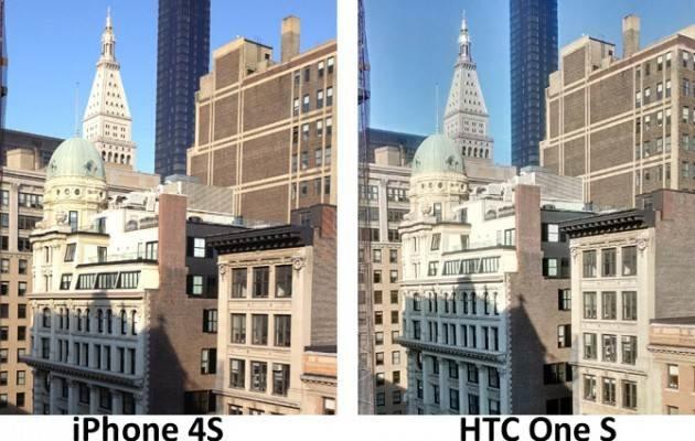 Сравнение камер HTC One S и iPhone 4S — HDR
