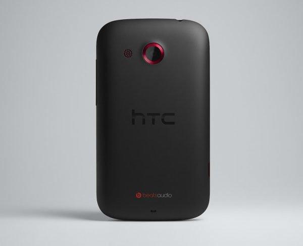 HTC Desire C сзади