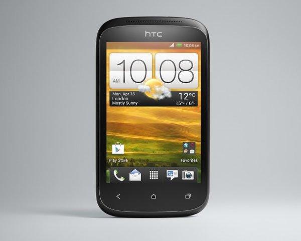 HTC Desire C спереди