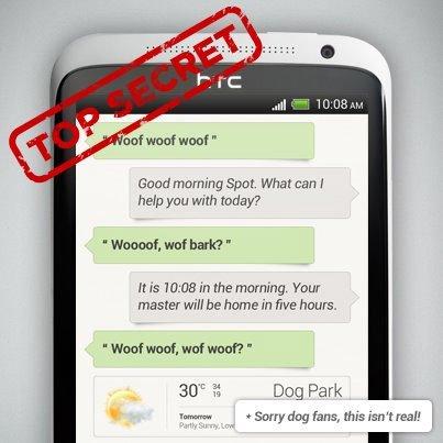 HTC показала «аналог» Siri