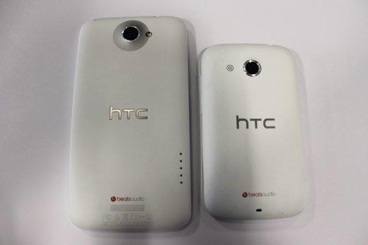 HTC Desire C и HTC One X