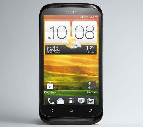 HTC Desire X черного цвета