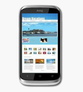 Браузер в HTC Desire X