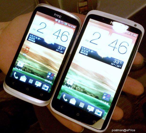 HTC Desire X и HTC One X