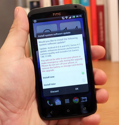 HTC One X обновили до Android 4.0.4