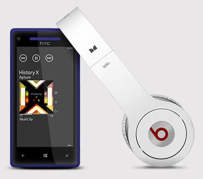 HTC 8X — Beats Audio