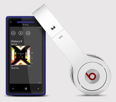 HTC 8X — Beats Audio
