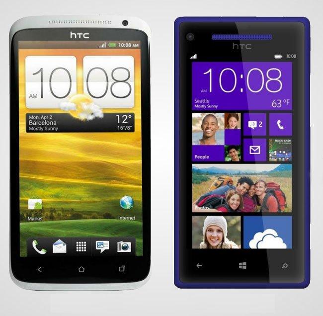 Сравнение HTC One X и HTC 8X