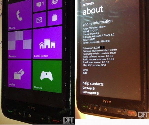 Windows Phone 8 портировали на HTC HD2