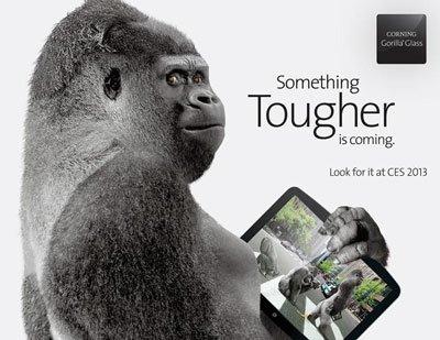 Corning представила защитное стекло Gorilla Glass 3 на CES