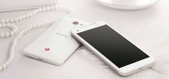 Белый HTC Butterfly
