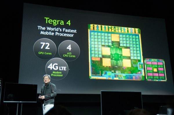 NVIDIA Tegra 4 нацелена на работу с графикой