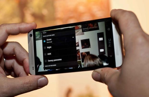 Режимы камеры в HTC One
