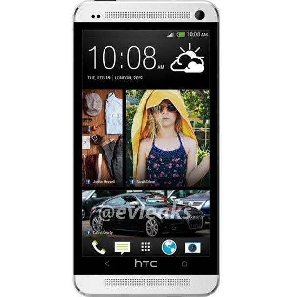 Смартфон HTC One показали в новом обличии