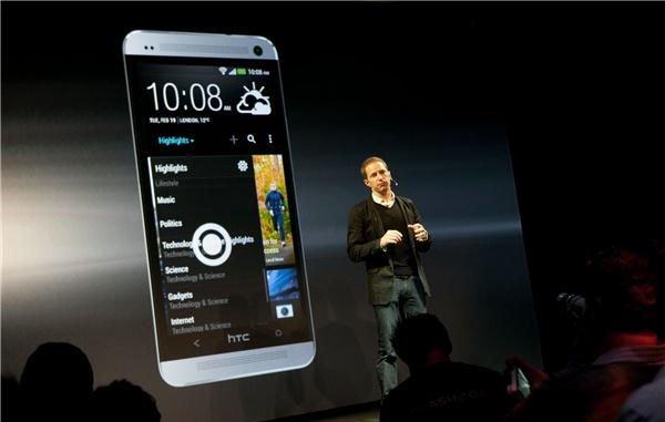 Презентация HTC One — парные динамики