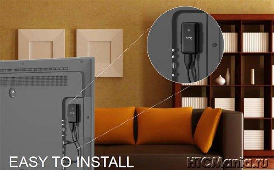Как подключить HTC Media Link HD к телевизору