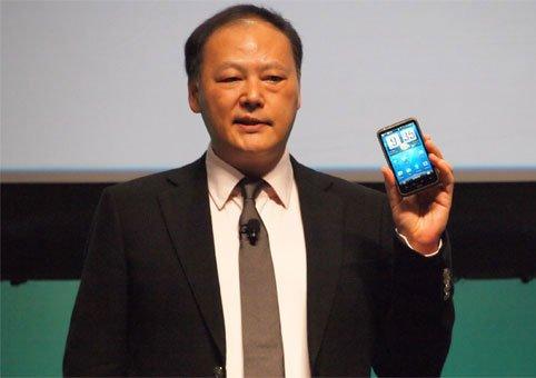Питер Чоу и телефон HTC