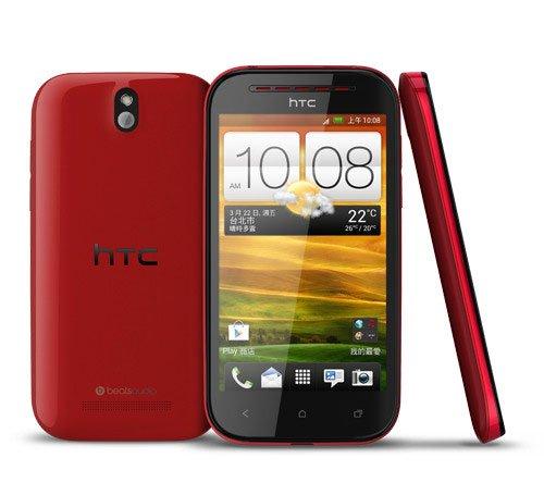 Красный HTC Desire P