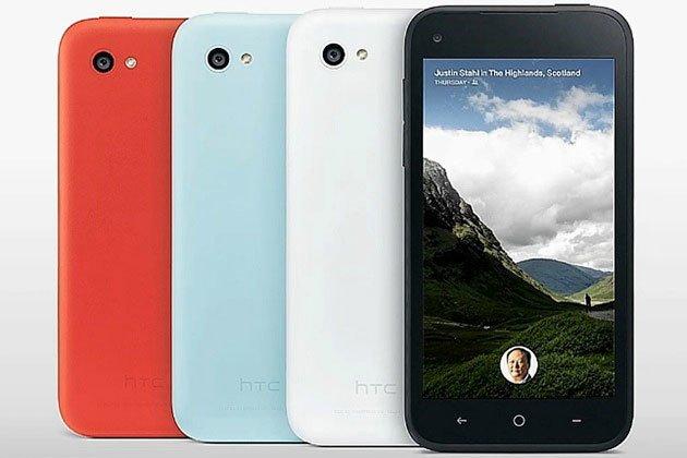 HTC First разных цветов сзади