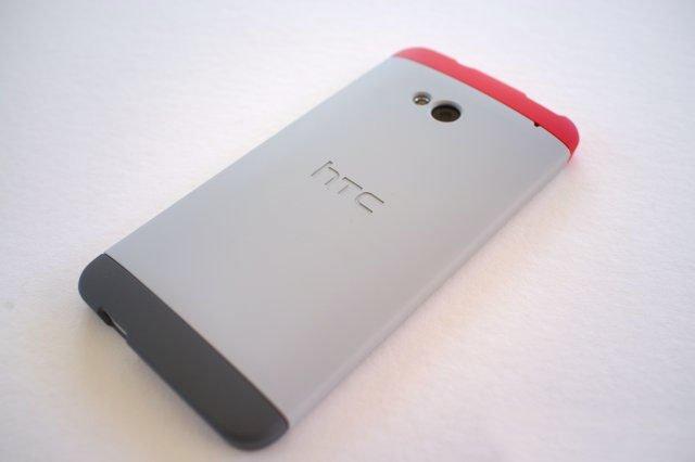 Чехол-накладка HC C840 Double Dip Hard Shell для HTC One — вид сзади