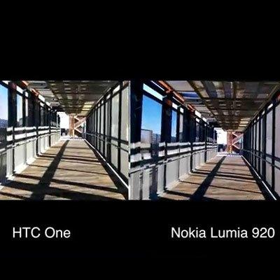 Cравнение оптической стабилизации в HTC One и Nokia Lumia 920