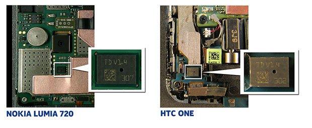 Nokia пожаловалась на микрофоны из HTC One
