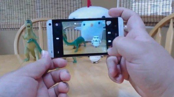 Съемка смартфоном HTC One